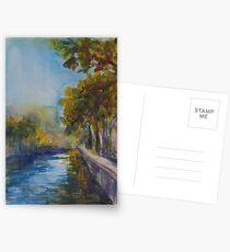 Canal St Martin, Paris Postcards