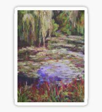 Monets Garden Sticker