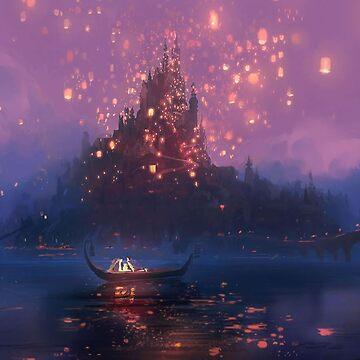 Tangled Lanterns! by MBroadbridgee