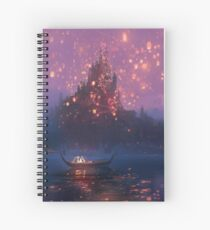 Tangled Lanterns! Spiral Notebook