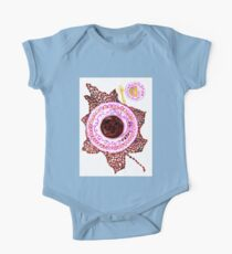 Cup of Coffee Art One Piece - Short Sleeve
