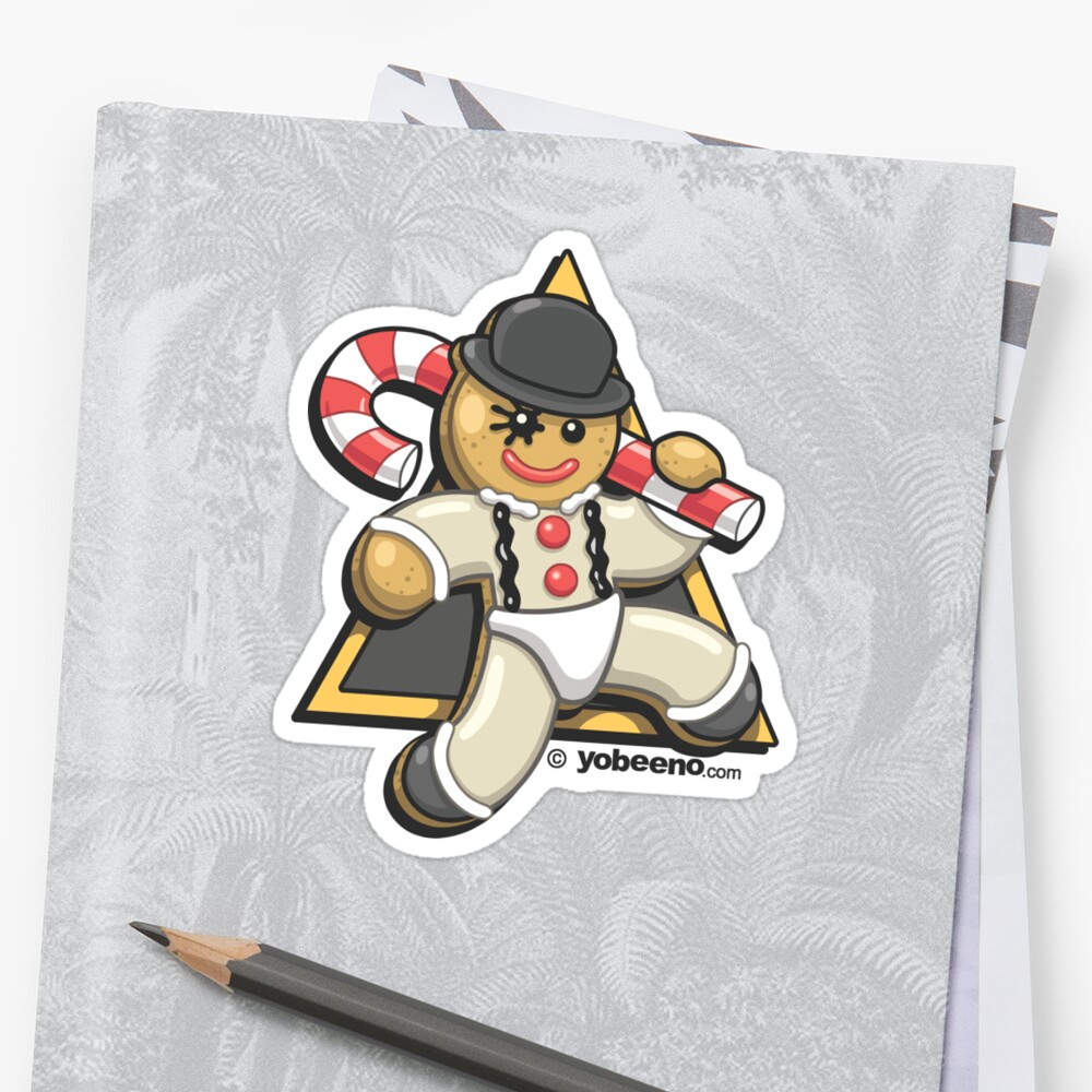 Christmas Droogie Sticker by yobeeno