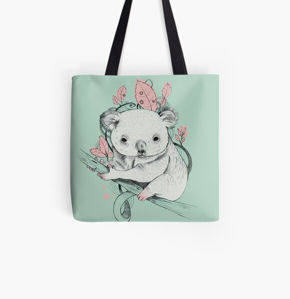 Koala! All Over Print Tote Bag