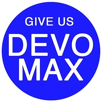Give Us Devo Max Sticker by xfifix