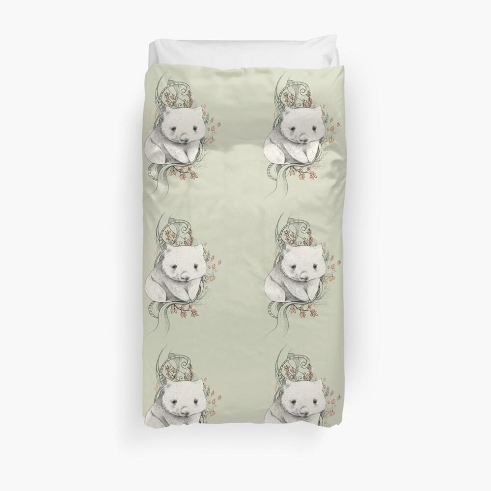 Wombat! Duvet Cover