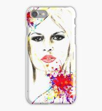 brigitte  iPhone Case/Skin