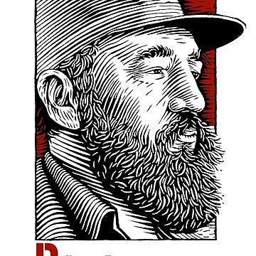 Revolution -fidel castro- by holidoli