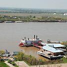Mississippi River, Baton Rouge by Deborah Singer