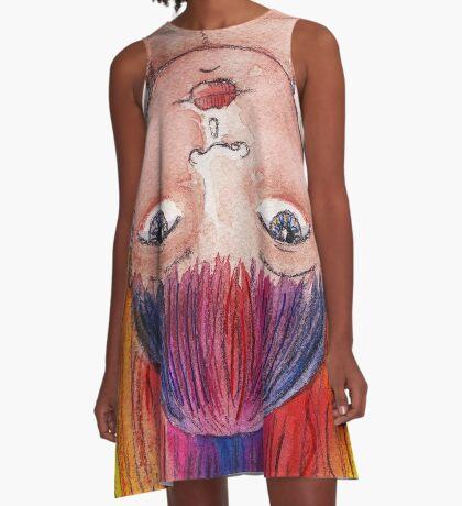 My Rainbow Life A-Line Dress