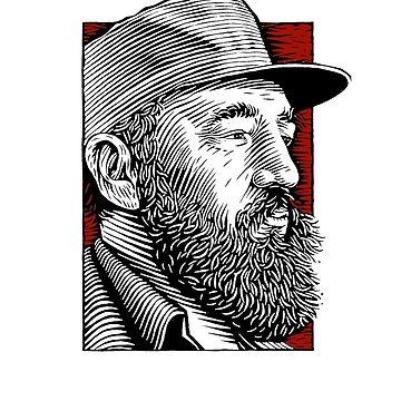 Revolutin Fidel Castro by holidoli