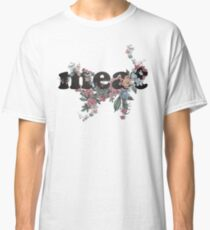 meat Floral Logo Classic T-Shirt