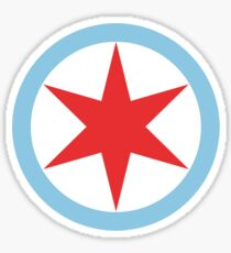 Captain Chicago Sticker