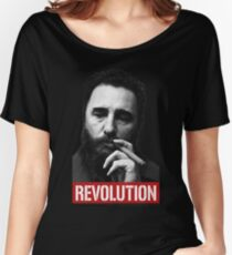 Fidel Castro -Che- Women's Relaxed Fit T-Shirt
