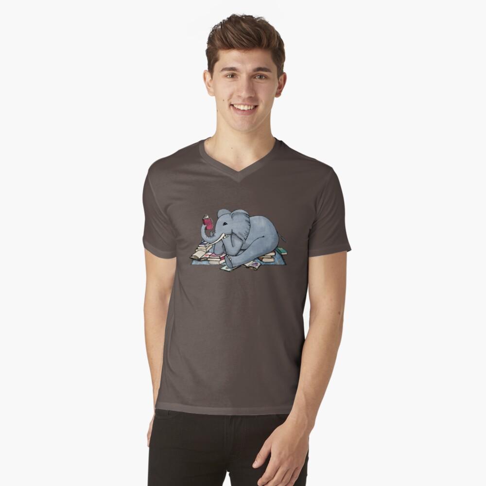 Lo mejor de los días lluviosos Camiseta de cuello en V