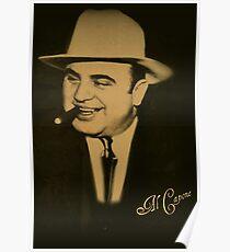 ˜` AL CAPONE˜`TEE SHIRTS,PILLOWS,TOTE BAG,JOURNAL,VARIOUS APPAREL Poster