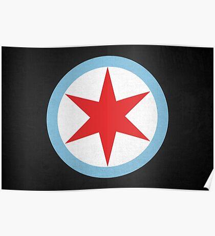 Captain Chicago Poster