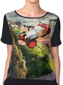 Chitty Chitty Bang Bang Chiffon Top