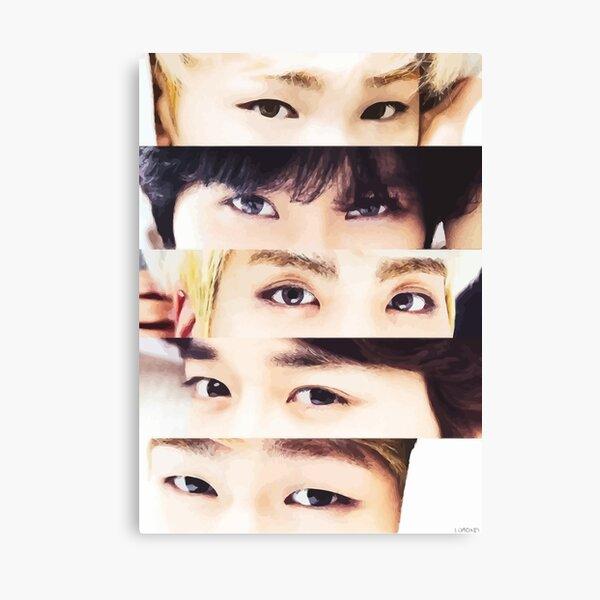 Shinee - Eyes Canvas Print