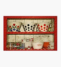 kitchen collectibles Photographic Print