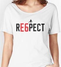 RE6PECT Shirt - Black Text Loose Fit T-Shirt