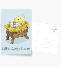 Little Baby Cheesus Postcards