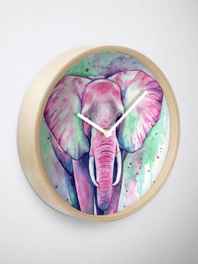 Vista alternativa de Reloj Elefante