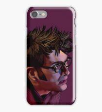 David Tennant - Sketchy Portrait 2 iPhone Case/Skin