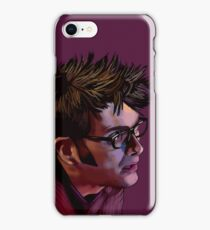 David Tennant - Sketchy Portrait 2 iPhone Case/Skin