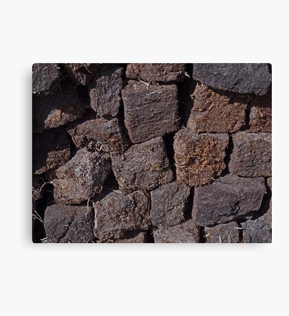 Irish Peat Canvas Print