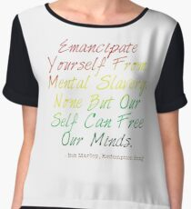 Redemption Songs Women's Chiffon Top