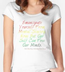 Redemption Songs Women's Fitted Scoop T-Shirt