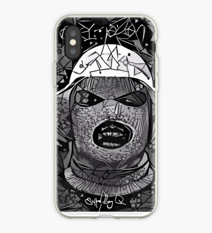 Abstract Oxymoron B&W iPhone Case
