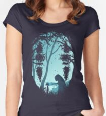 Lonely Spirit Women's Fitted Scoop T-Shirt