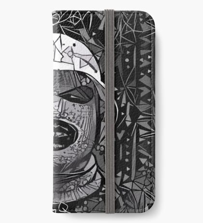 Abstract Oxymoron B&W iPhone Wallet