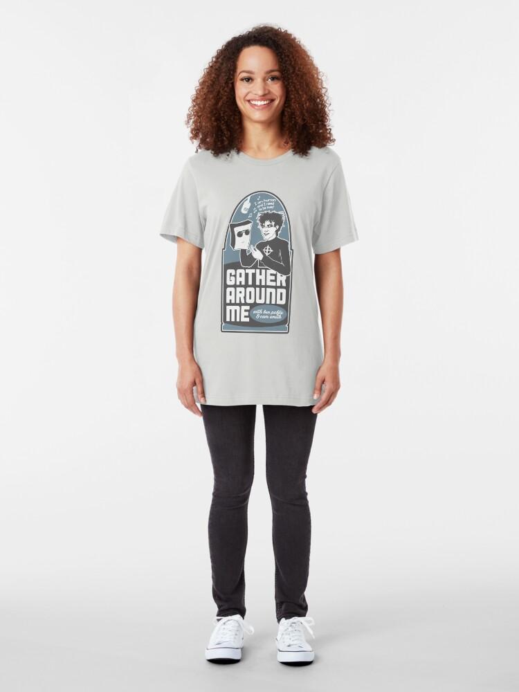 Alternate view of Gather Around Me Slim Fit T-Shirt