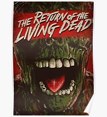 Return of the living dead poster Poster