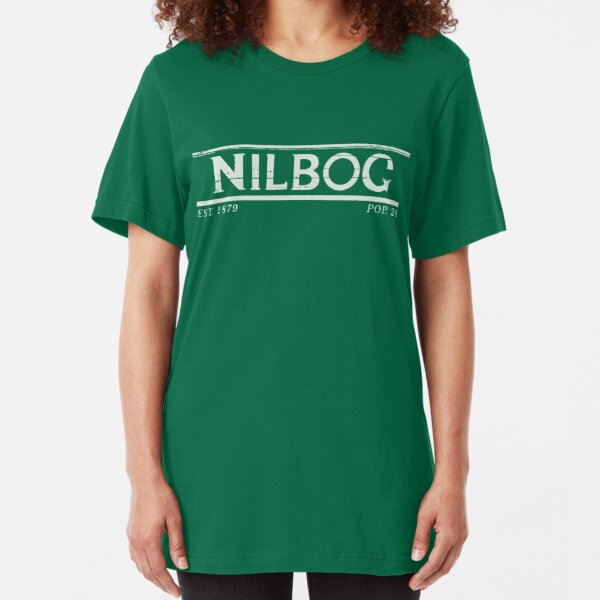 Nilbog Goblin Slim Fit T-Shirt