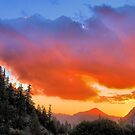 Stunning HDR Sunset by Rosalee Lustig