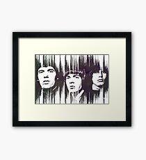 The Walker Brothers Framed Print