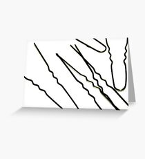 hairpin turn Greeting Card