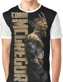 Conor McGregor - Gold King Graphic T-Shirt