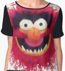 Muppets - Animal Chiffon Top