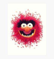 Muppets - Animal Art Print