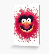Muppets - Animal Greeting Card