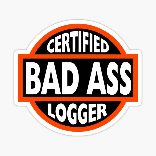 "/""TRY USING PLASTIC TOILET PAPER/"" Anti Tree Hugger STICKER logging truck logger"