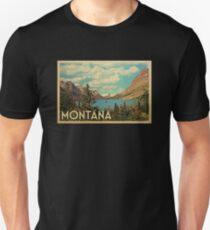 Montana Vintage Travel T-shirt T-Shirt