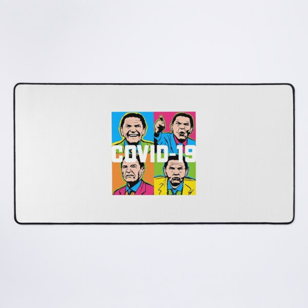 Pop Covid 19 Wtfbrahh| Perfect Gift Desk Mat