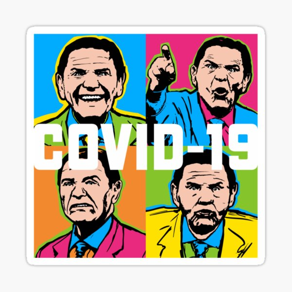 Pop Covid 19 Wtfbrahh  Perfect Gift Sticker