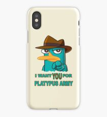 Perry's Army iPhone Case