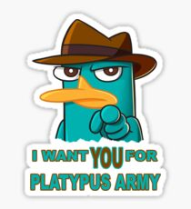 Perry's Army Sticker